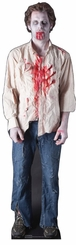 Zombie Guy Cardboard Cutout Life Size Standup