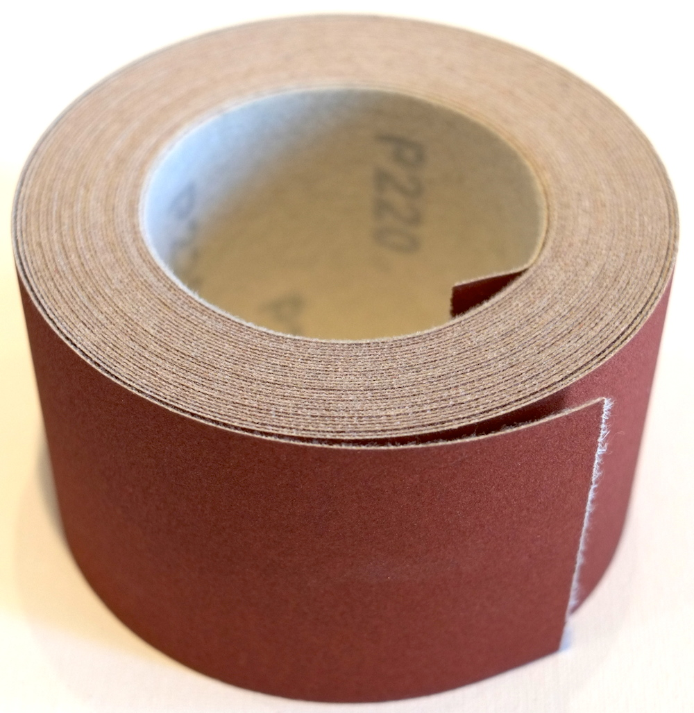 Red 3 Quot By 10 Yds Hook Amp Loop Sandpaper Roll 120 Grit