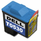 Replacement for Dell T0529; Models RT0529 A920; Black Ink MG Re-Manufactured Inkjet Cartridges Photo 720
