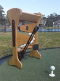 Quick Tee Up Automatic Golf Ball Dispenser Tee Go Machine Setter