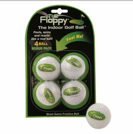 Free Shipping!  The Floppy Indoor Golf Practice Ball   4 Pack