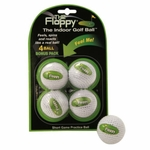 Free Shipping!  The Floppy Indoor Golf Practice Ball | 4 Pack