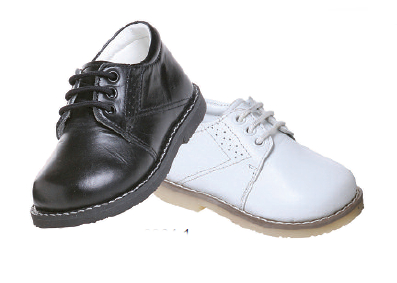 Boys Dress Shoes - Smooth Leather Black