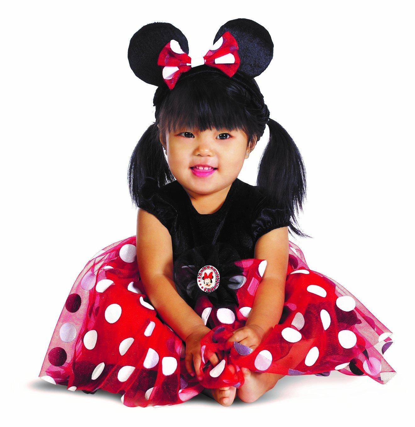 disney character costumes my first disney red minnie costume. Black Bedroom Furniture Sets. Home Design Ideas