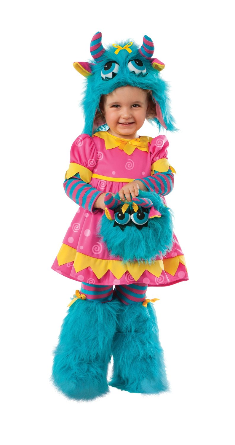 Fluffy and Me Muffy Monster Costume - Girls Halloween Costume  sc 1 st  In Fashion Kids & In Fashion Kids