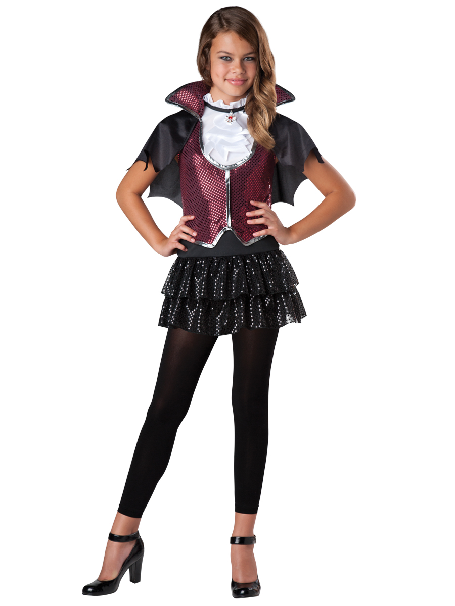 girls vampire costume glampiress halloween costume sold out