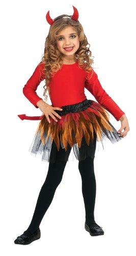 Girls Devil Halloween Costume Ballerina Tutu - sold out  sc 1 st  In Fashion Kids & In Fashion Kids