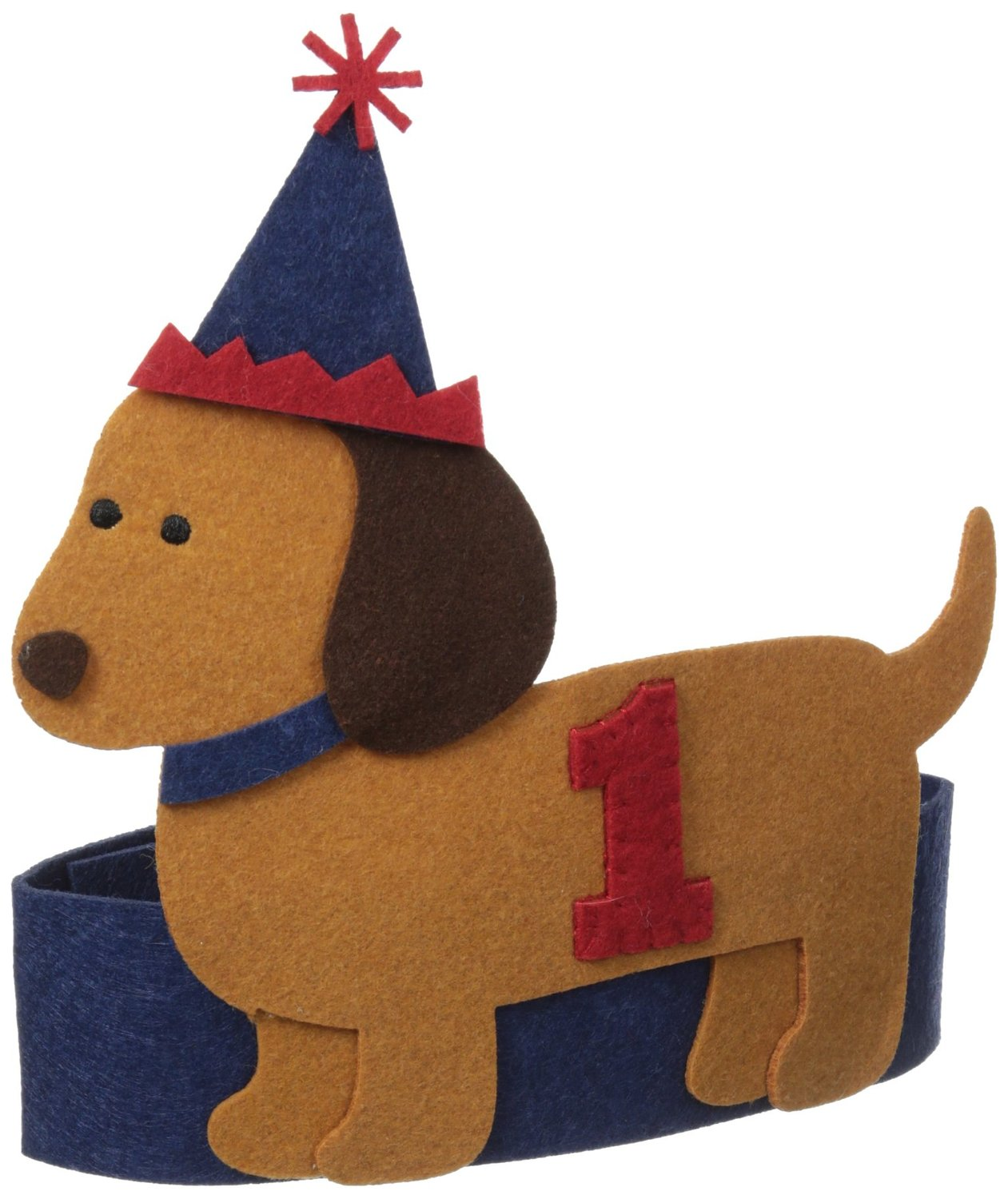 Baby Boys Puppy 1st Birthday Hat