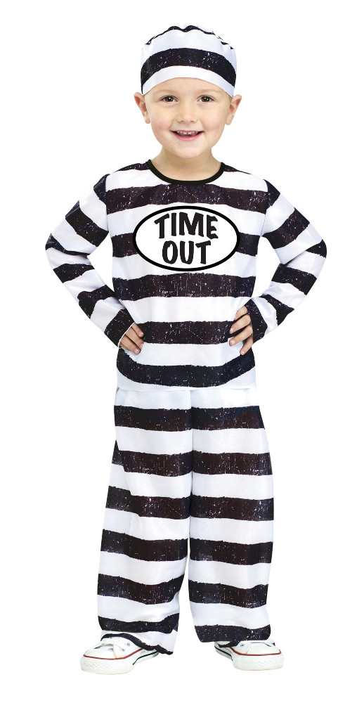Time Out Tot Costume - Inmate Prisoner Costume - sold out  sc 1 st  In Fashion Kids & In Fashion Kids