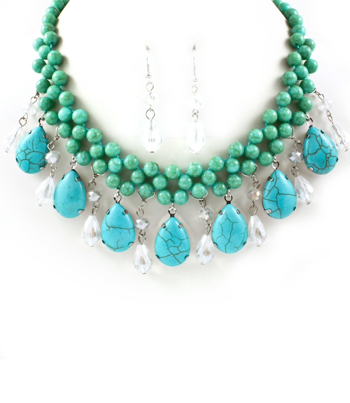 Fashion jewellery fashion jewellery sets for women for Turquoise colored fashion jewelry