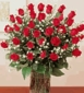 3 Dozen Long Stems Red Roses Arranged