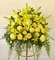 All-Yellow Sympathy Standing Basket