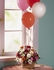 Basket Flowers with Balloons medium