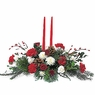 Christmas Centerpiece W/2 Candle