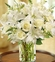 Classic All-White Arrangement Funeral
