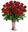 I Adore You Bouquet 3 Dozen Red Roses Valentine