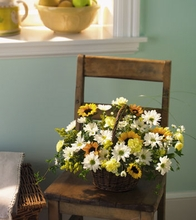 Mixed flowers Basket