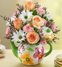 Mom's Tea Party Flowers