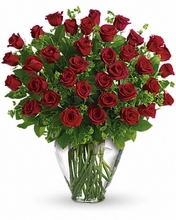 My Perfect Love - Valentine Long Stemmed Red Roses