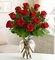 Premium Long Stem Red Roses Valentine's Day Delivery
