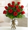 Premium Long Stem Red Roses Congratulations