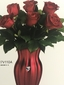Shining Heart Bouquet Rose Delivery Irving 12 red