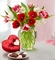 Sweetest Love Tulips, 15 Stems w Chocolate
