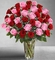 Ultimate Elegance Long Stem Pink & Red Rose