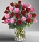 Valentine Ultimate Elegance Long Stem Pink and Red Roses