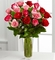 ValentinePinkand Red Rose Bouquet