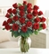 ValentineTwo Dozen Premium Long Stem Red Roses