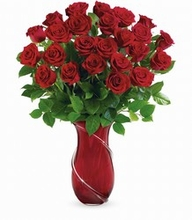 Romance her with roses Wrapped In Roses Bouquet