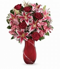 Wrapped With Passion Bouquet Valentine day