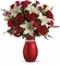 Lg-XOXO Bouquet with Red Roses