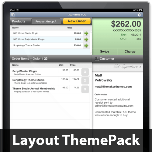 360Plastic POS Layout ThemePack