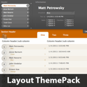 Central Focus Layout ThemePack