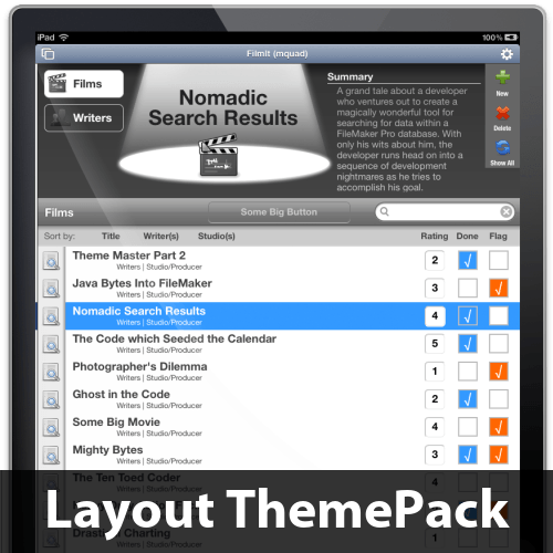 FilmIt Pro Layout ThemePack