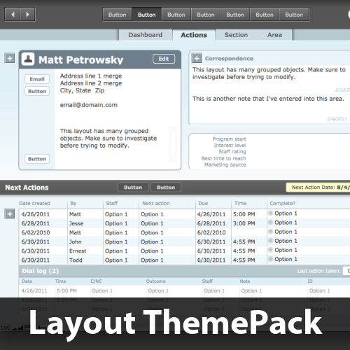 Floatly Central Layout ThemePack