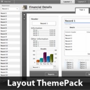 Grayful Beauty Layout ThemePack