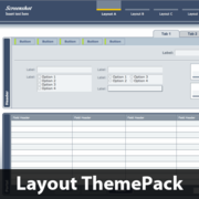 Modern Formality Layout ThemePack