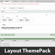 Nav & Tabs Up Top Layout ThemePack