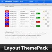 Simple Lines Layout ThemePack