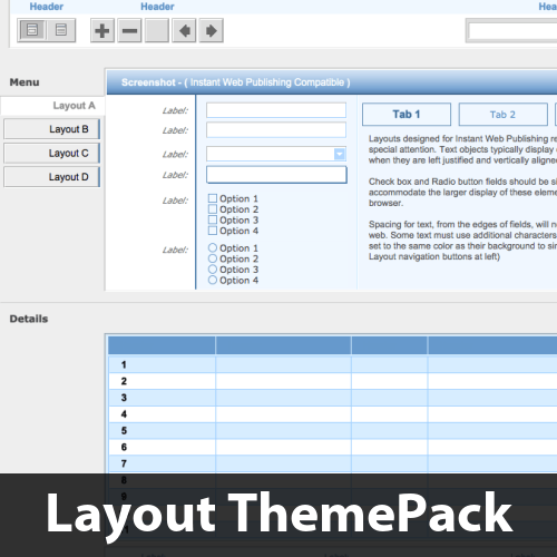 Simply Web Layout ThemePack