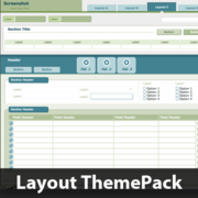 Target Practice Layout ThemePack