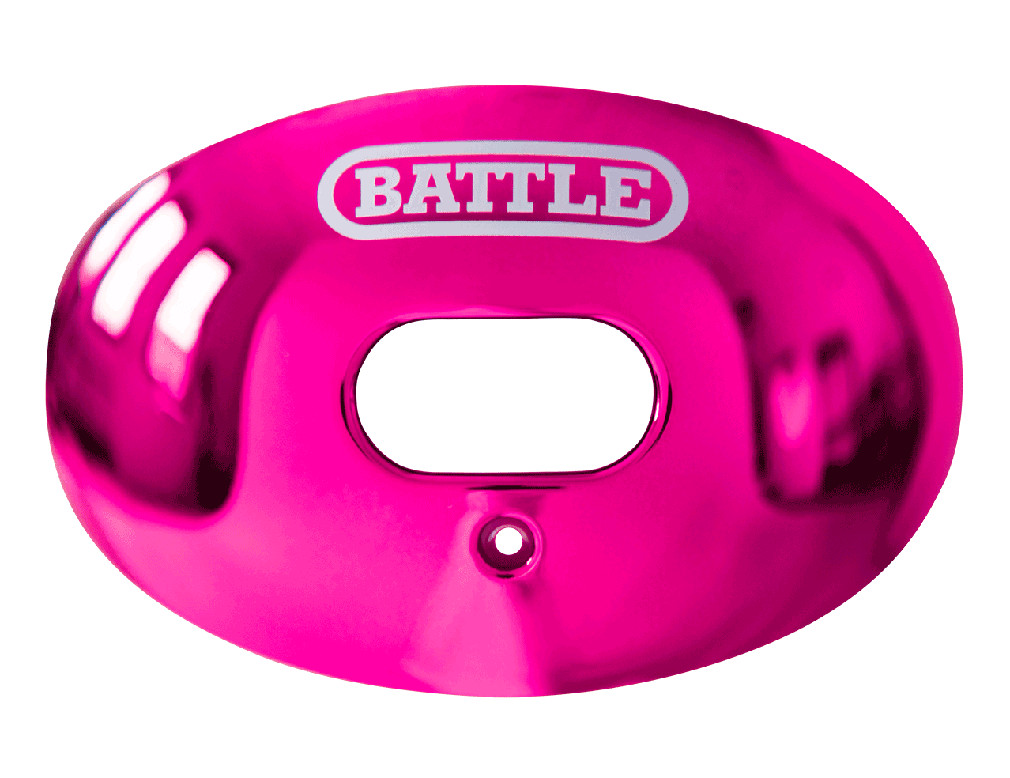 Battle Sports Chrome Oxygen Lip Protector Mouthguard|Free ...