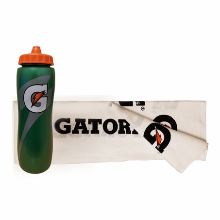 Gatorade Towel-Water Bottle Combo Pack