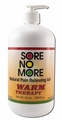 Sore No More Warm 32 oz Pump Bottle (Free Shipping)