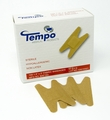 Tempo Latex Free Knuckle Bandages - 1.5 x 3in - Box of 100 (Free Shipping)
