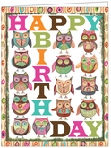 B06 - Owl Birthday Cards