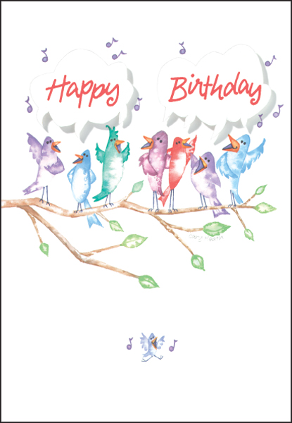 Cheerful Volunteer Birthday Cards – Birthday Cards That Sing